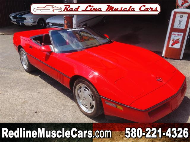 1988 Chevrolet Corvette (CC-1357786) for sale in Wilson, Oklahoma