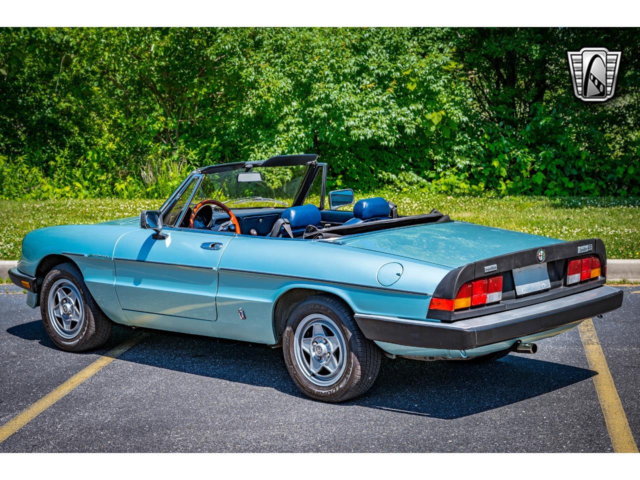 1983 Alfa Romeo Spider (CC-1357807) for sale in O'Fallon, Illinois