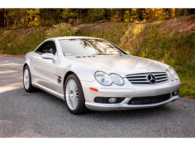 2004 Mercedes-Benz SL55 (CC-1357842) for sale in KINGSTON, Massachusetts