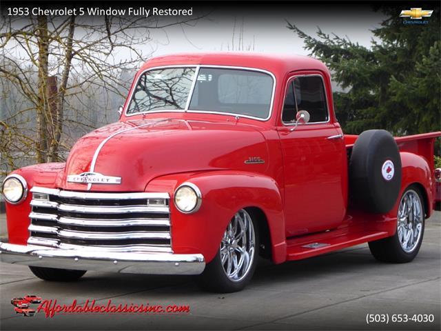 1953 Chevrolet 5-Window Coupe (CC-1358027) for sale in Gladstone, Oregon