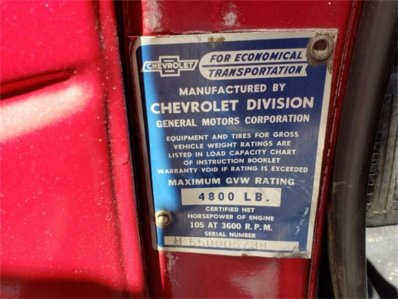 1955 Chevrolet 3100 (CC-1358104) for sale in Seattle, Washington