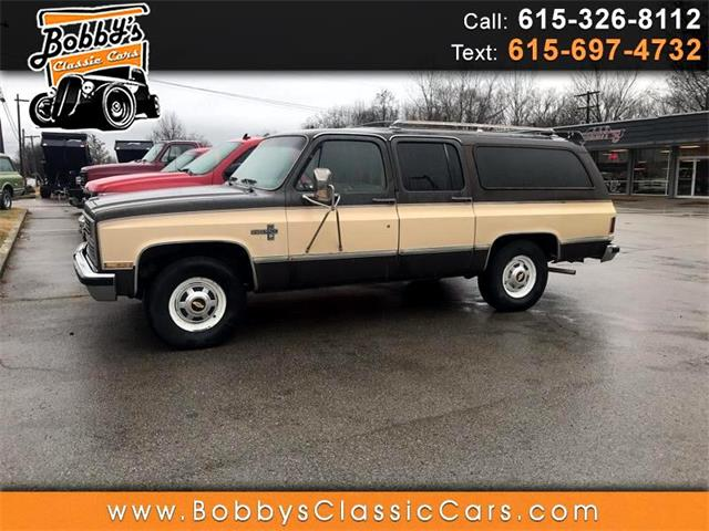 1984 Chevrolet Suburban (CC-1358116) for sale in Dickson, Tennessee