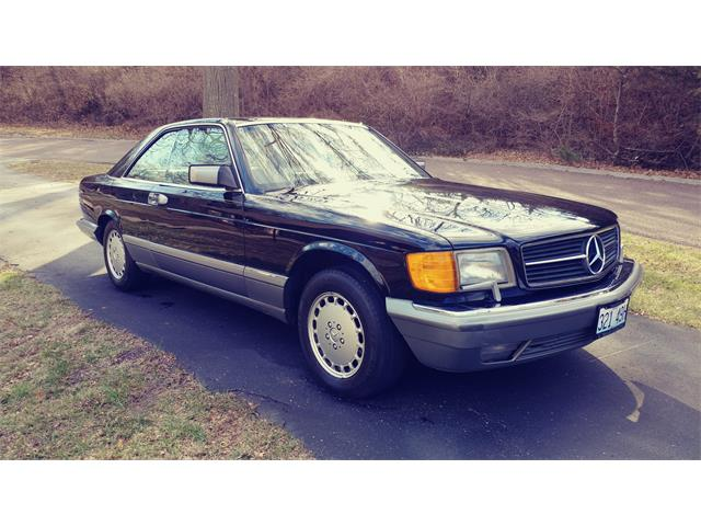 1987 Mercedes-Benz 560SEC (CC-1350813) for sale in Arnold, Missouri