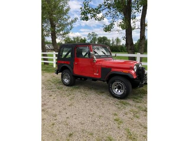 1979 Jeep CJ7 (CC-1358302) for sale in Cadillac, Michigan