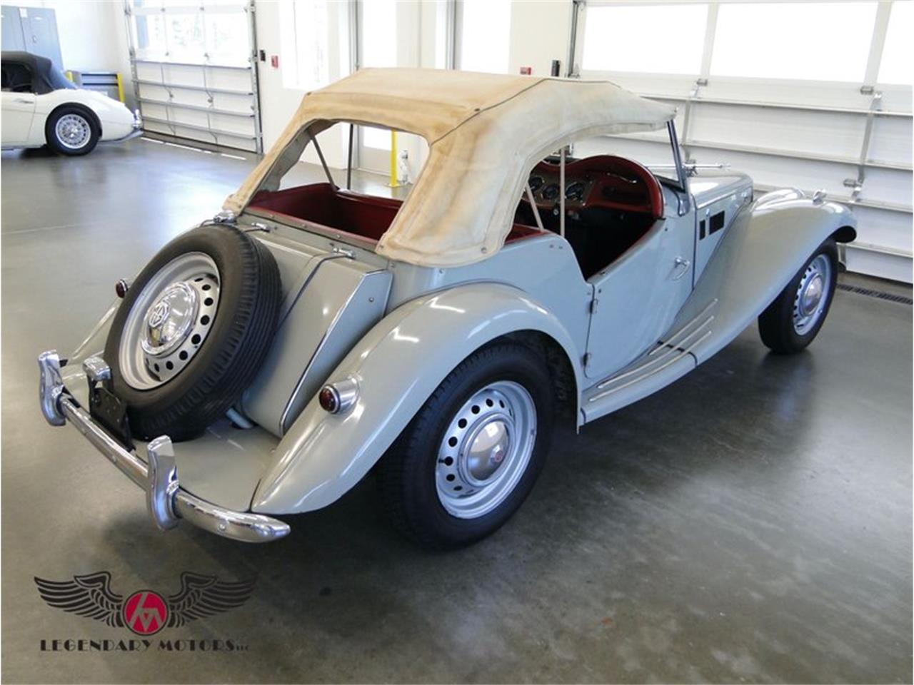 1955 MG TF (CC-1358368) for sale in Beverly, Massachusetts