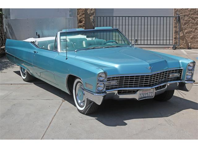 1967 Cadillac DeVille (CC-1358477) for sale in SAN DIEGO, California