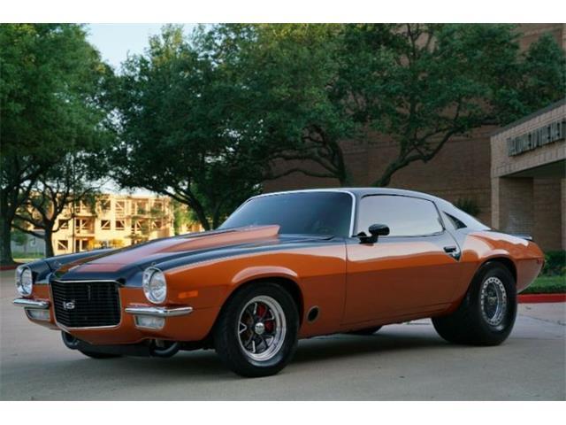 1972 Chevrolet Camaro (CC-1358562) for sale in Cadillac, Michigan