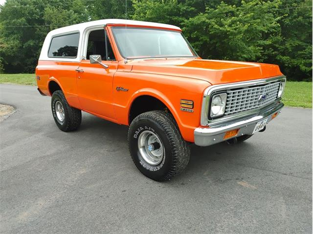 1972 Chevrolet Blazer (CC-1358578) for sale in Greensboro, North Carolina
