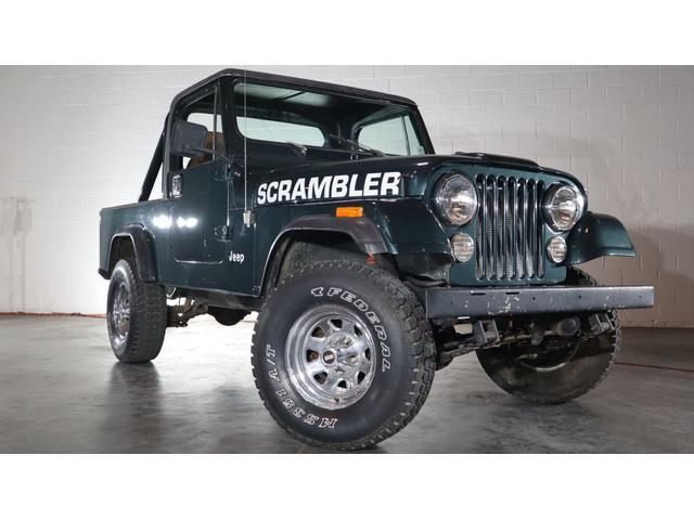 1982 Jeep CJ8 Scrambler