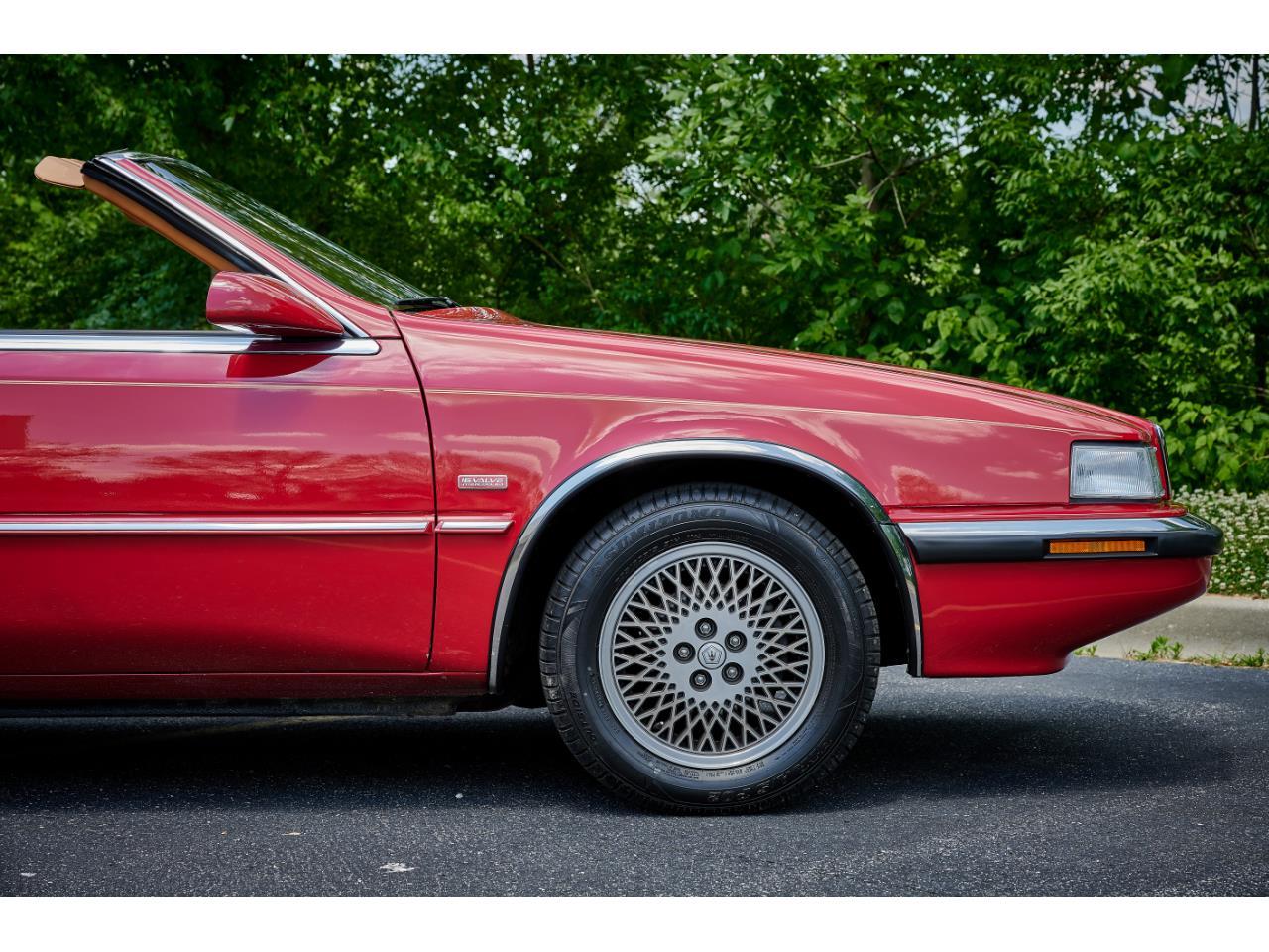 1989 Chrysler TC by Maserati (CC-1358720) for sale in O'Fallon, Illinois
