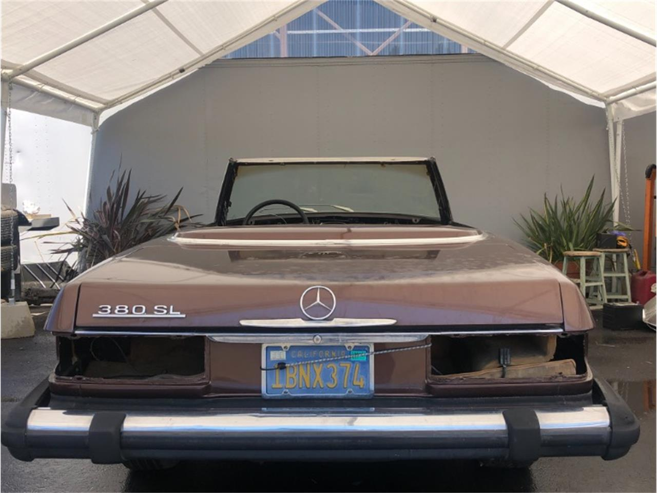 1981 Mercedes-Benz 380SL (CC-1358898) for sale in Los Angeles, California