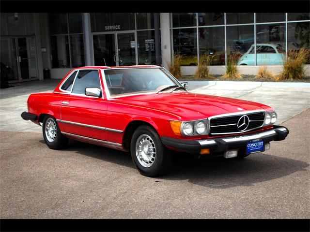 1976 Mercedes-Benz 450SL (CC-1358908) for sale in Greeley, Colorado