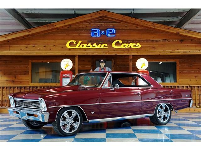 1966 Chevrolet Nova (CC-1359049) for sale in New Braunfels , Texas