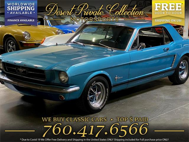 1965 Ford Mustang (CC-1359181) for sale in Palm Desert , California