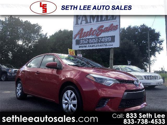2016 Toyota Corolla (CC-1359215) for sale in Tavares, Florida