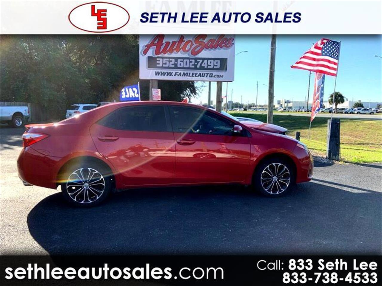 2016 Toyota Corolla (CC-1359218) for sale in Tavares, Florida