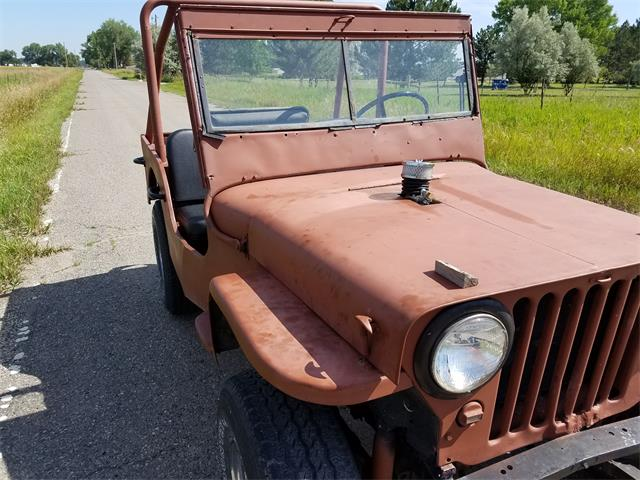 1943 Willys Military Jeep (CC-1350942) for sale in Billings, Montana