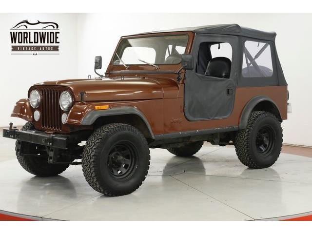 1983 Jeep CJ7 (CC-1359597) for sale in Denver , Colorado