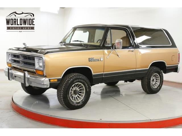 1986 Dodge Ramcharger (CC-1359648) for sale in Denver , Colorado