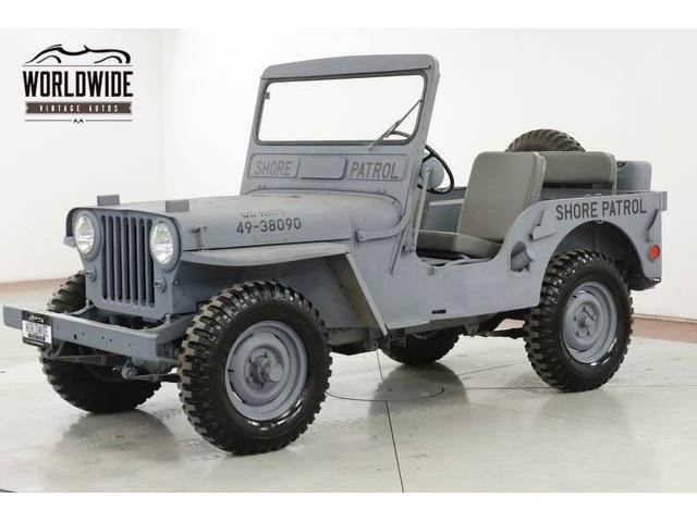 1947 Jeep Willys (CC-1359655) for sale in Denver , Colorado