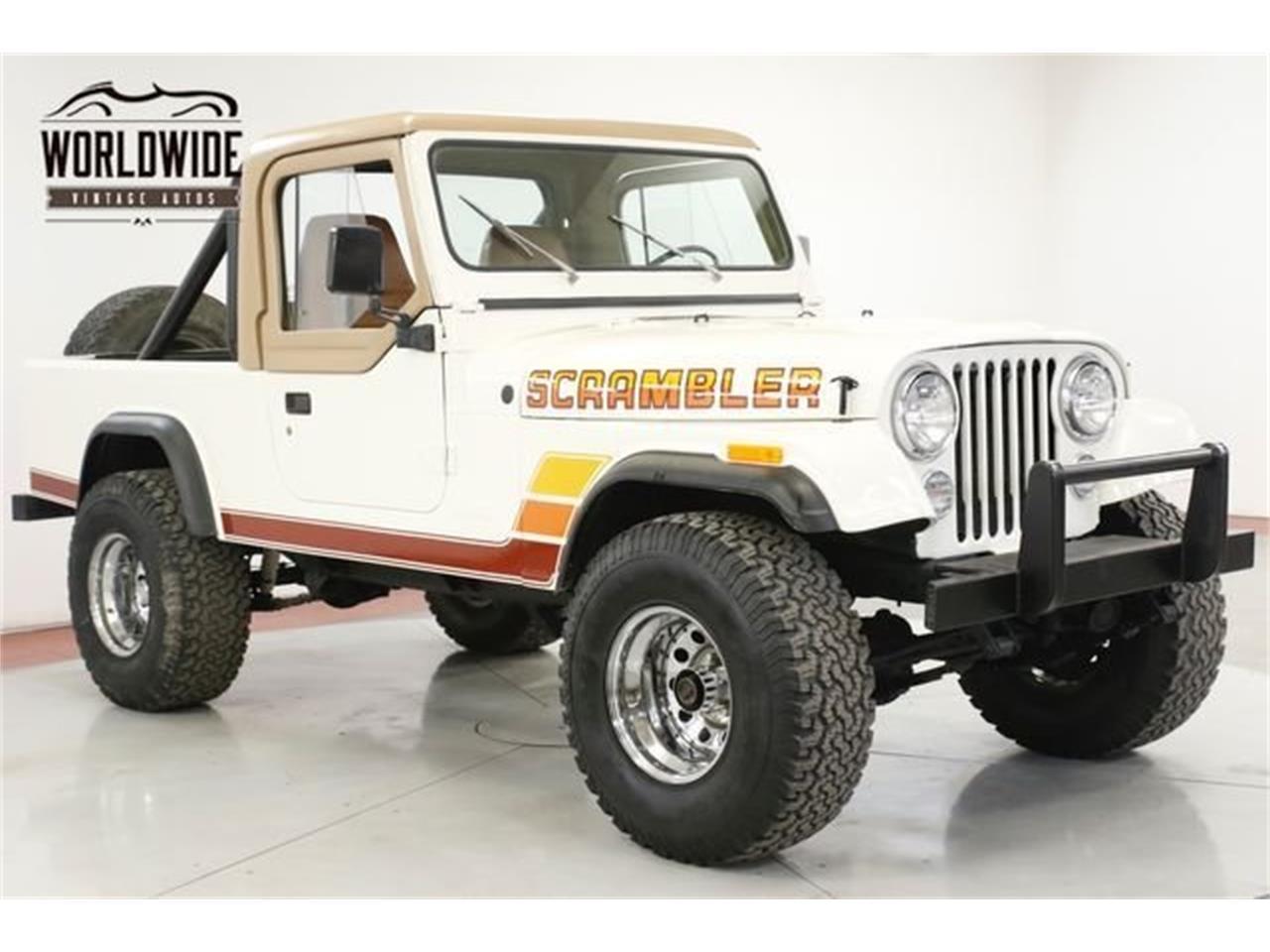 1981 Jeep CJ8 Scrambler (CC-1359704) for sale in Denver , Colorado