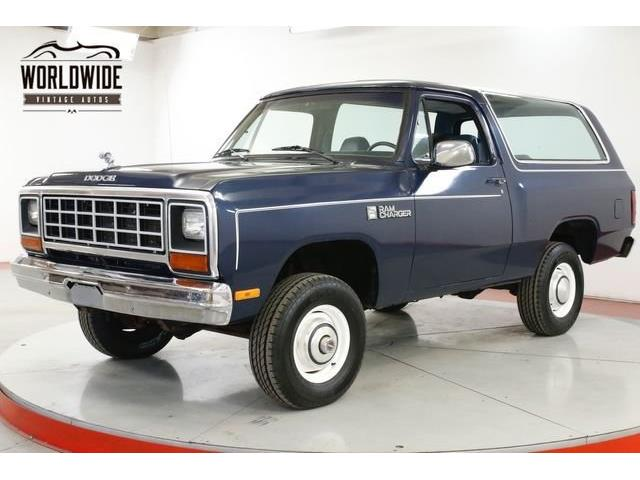 1984 Dodge Ramcharger (CC-1359716) for sale in Denver , Colorado