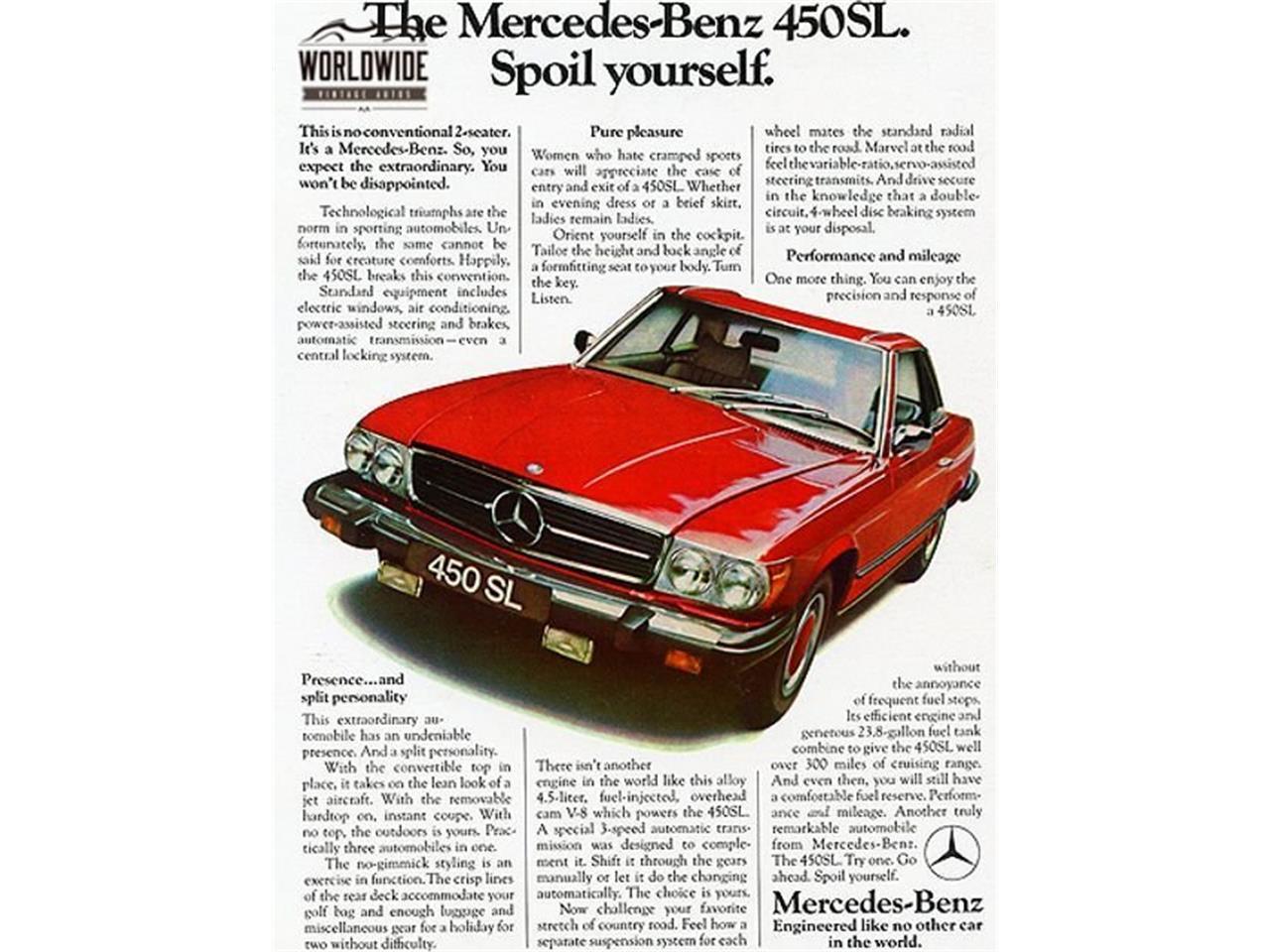 1974 Mercedes-Benz 450SL (CC-1359717) for sale in Denver , Colorado