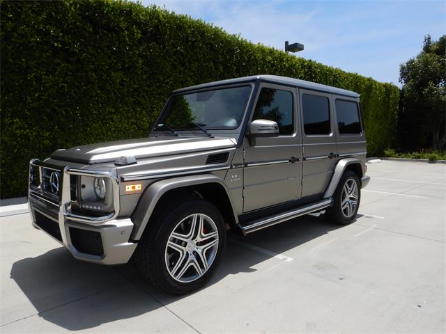 2017 Mercedes-Benz G63 AMG (CC-1359759) for sale in woodland hills, California