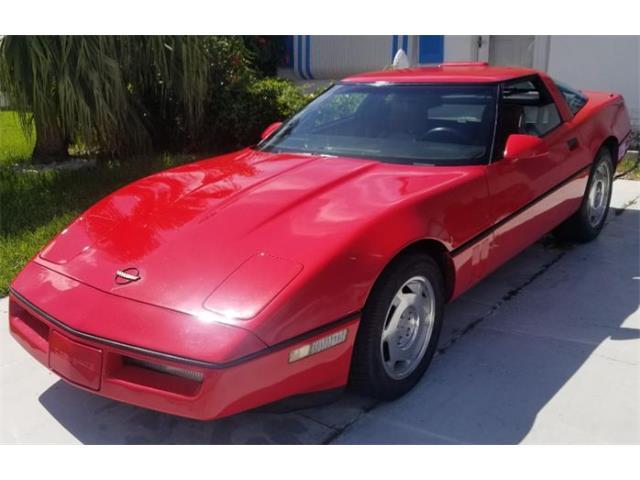 1988 Chevrolet Corvette (CC-1359837) for sale in Cadillac, Michigan