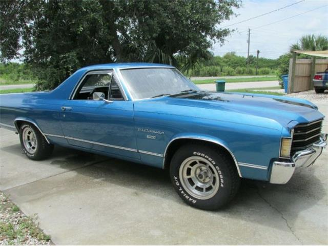 1972 Chevrolet El Camino (CC-1359866) for sale in Cadillac, Michigan