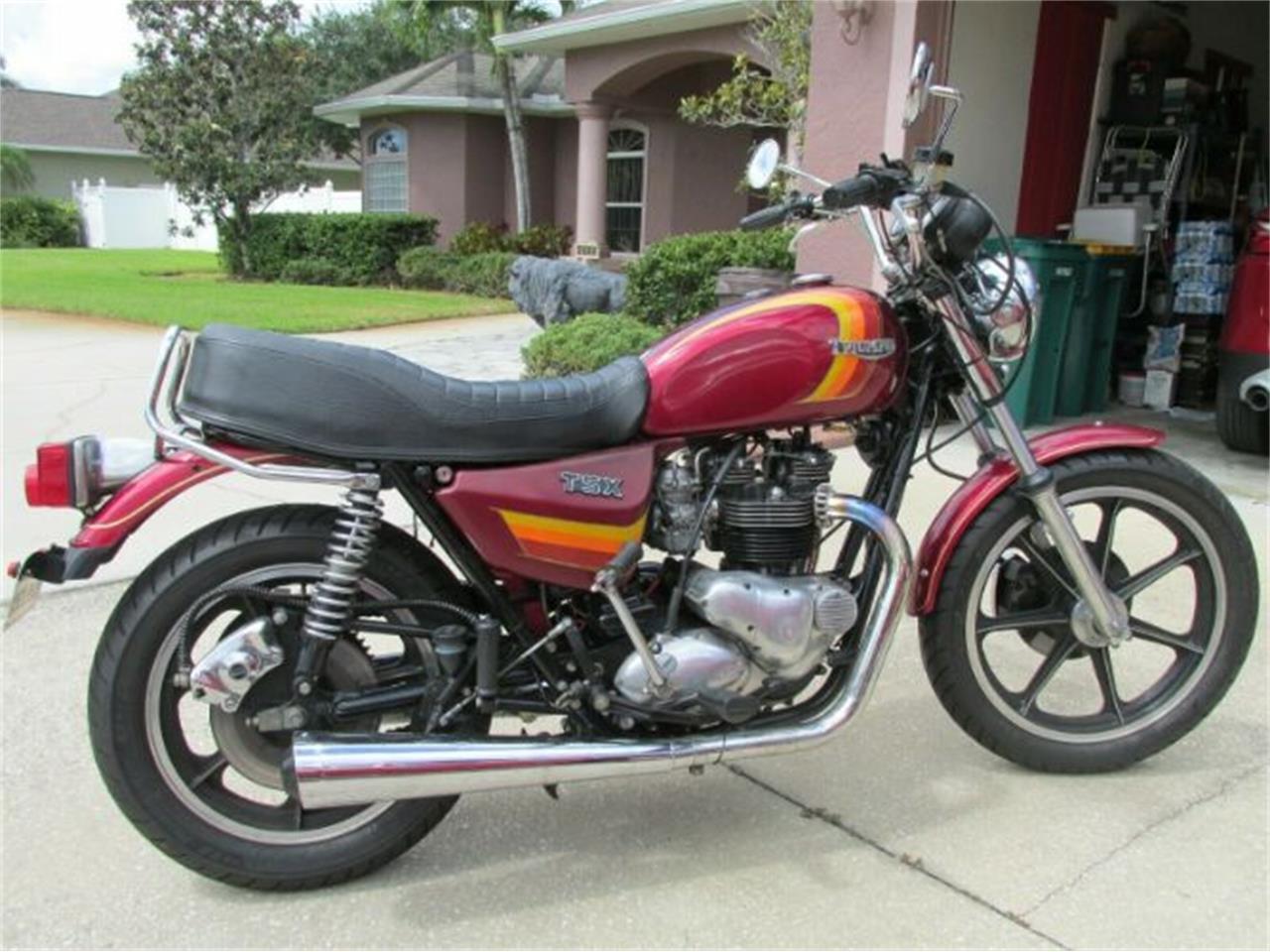 1983 Triumph Bonneville (CC-1359868) for sale in Cadillac, Michigan