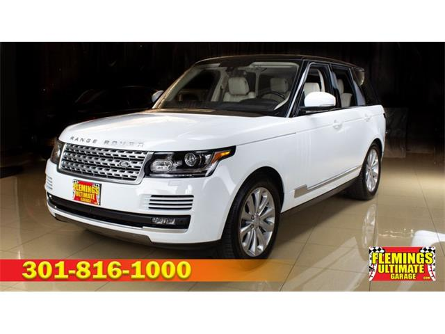 2016 Land Rover Range Rover (CC-1361087) for sale in Rockville, Maryland