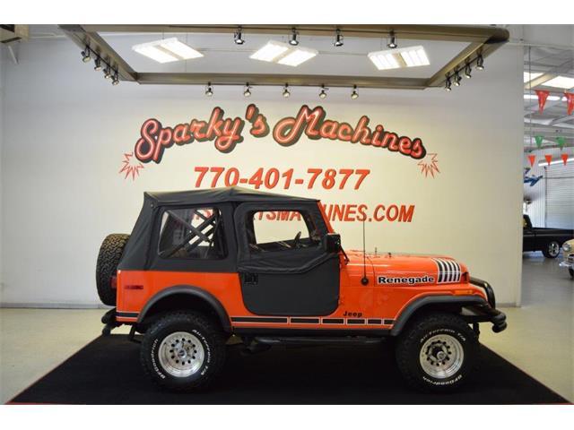 1977 Jeep CJ7 (CC-1361149) for sale in Loganville, Georgia