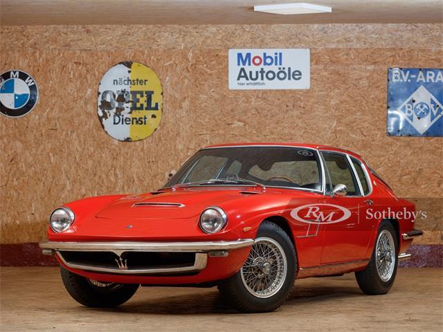 1964 Maserati Mistral (CC-1361379) for sale in London, United Kingdom