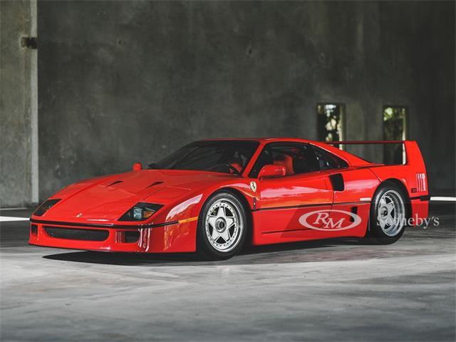 1991 Ferrari F40 (CC-1361408) for sale in Monterey, California