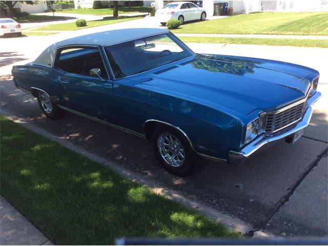 1972 Chevrolet Monte Carlo (CC-1361435) for sale in Davenport, Iowa