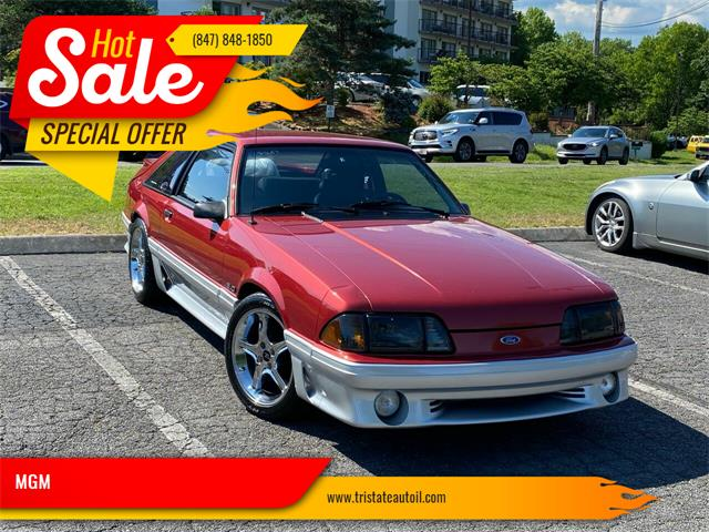1990 Ford Mustang (CC-1360148) for sale in Addison, Illinois