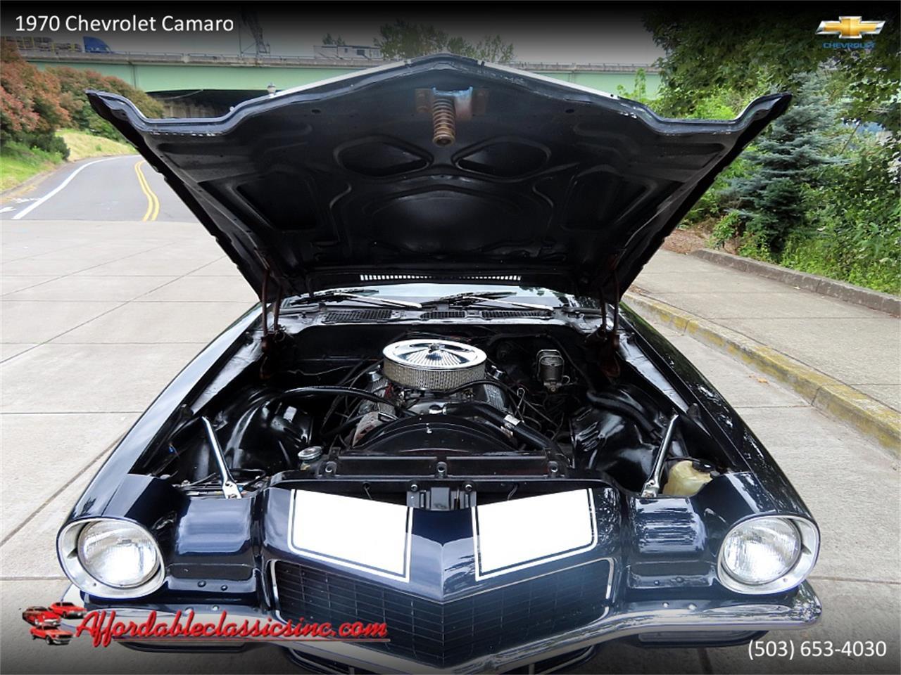 1970 Chevrolet Camaro (CC-1360158) for sale in Gladstone, Oregon