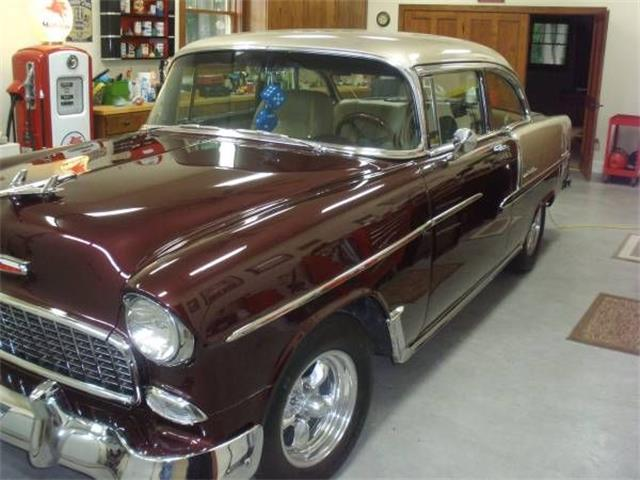 1955 Chevrolet Bel Air (CC-1361587) for sale in Cadillac, Michigan
