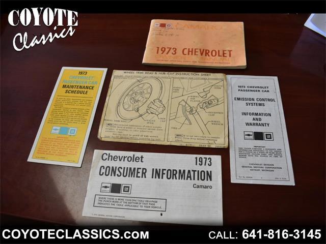 1973 Chevrolet Camaro (CC-1361693) for sale in Greene, Iowa