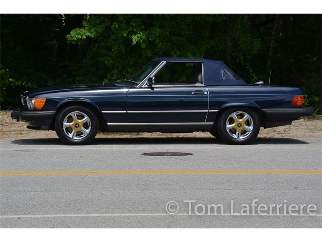 1987 Mercedes-Benz 500SL (CC-1361751) for sale in Smithfield, Rhode Island
