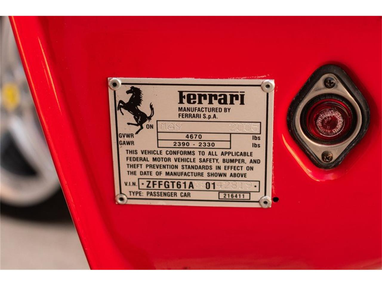 2005 Ferrari 575 (CC-1360178) for sale in Houston, Texas