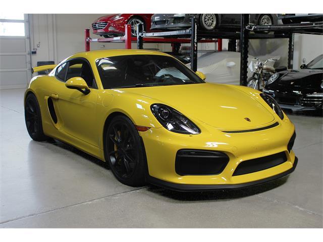 2016 Porsche Cayman (CC-1360187) for sale in San Carlos, California