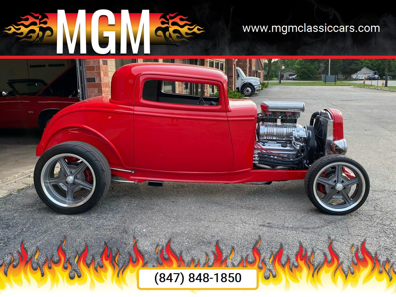 1932 Ford Coupe (CC-1361896) for sale in Addison, Illinois