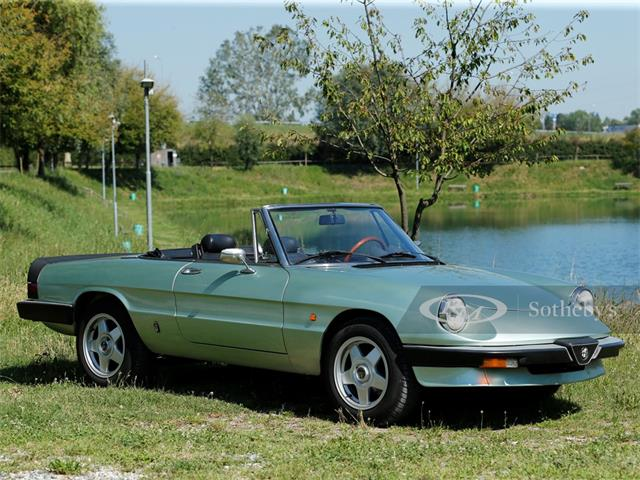 1985 Alfa Romeo Spider (CC-1361978) for sale in London, United Kingdom