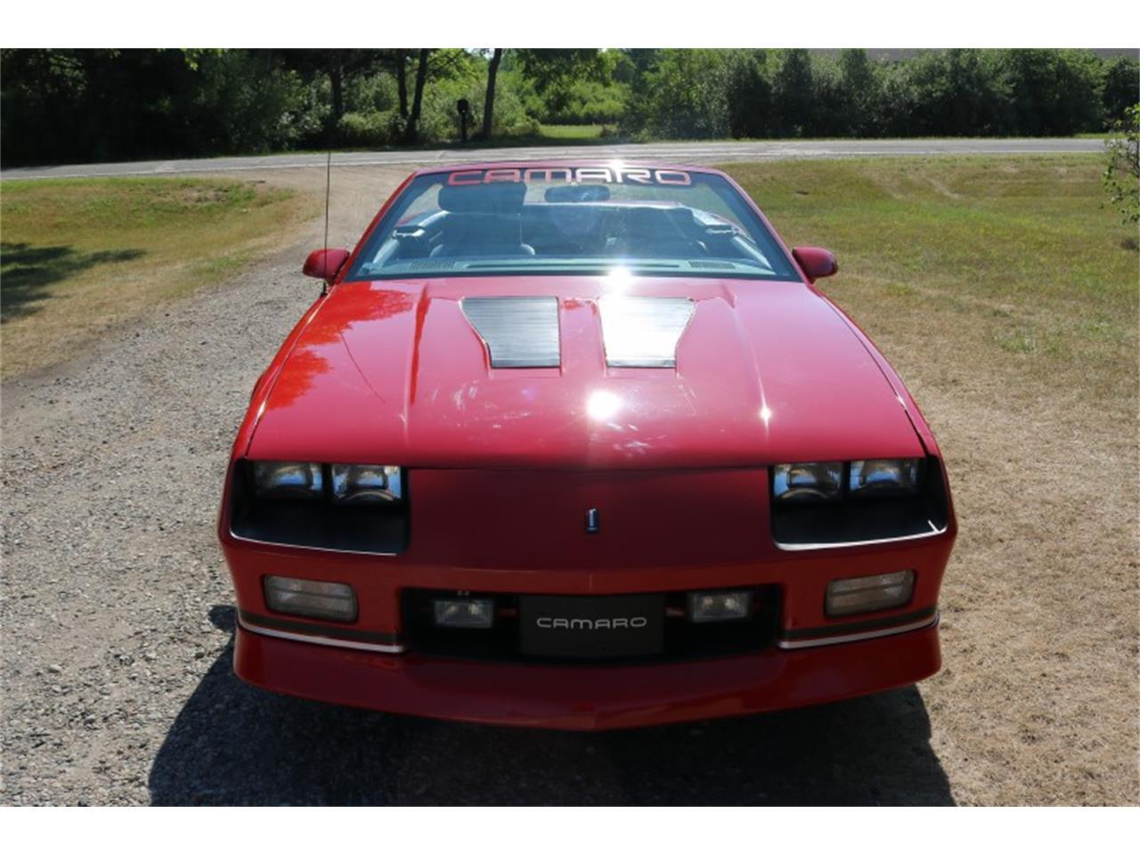 1988 Chevrolet Camaro IROC Z28 (CC-1362058) for sale in Columbiaville, Michigan