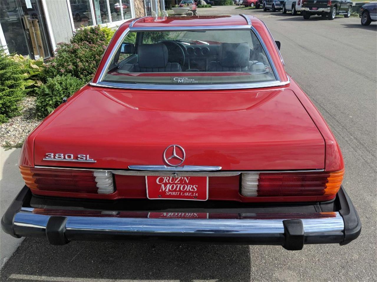 1982 Mercedes-Benz 380SL (CC-1360207) for sale in Spirit Lake, Iowa