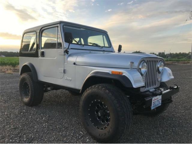 1982 Jeep CJ (CC-1362389) for sale in Cadillac, Michigan