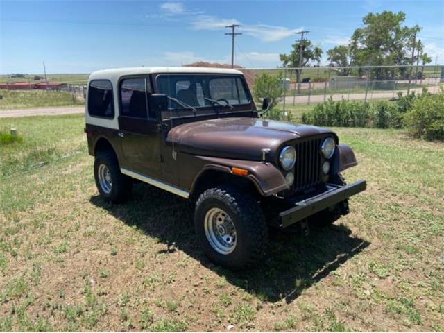 1977 Jeep CJ7 (CC-1362429) for sale in Cadillac, Michigan
