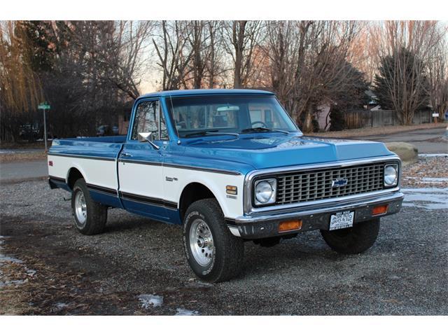 1971 Chevrolet C10 (CC-1362520) for sale in Sandy, Utah